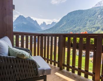 Vista balcone villa f1